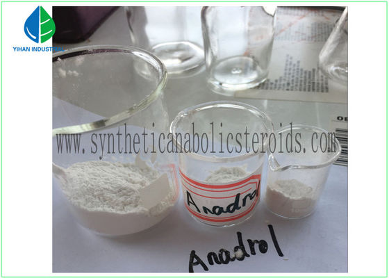 Androgen-Ergänzungs-legale Bodybuilding-Steroide Oxymetholone Anadrol CAS 434-07-1